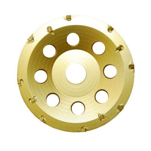 Diamantschleifscheibe 125 x 22,23 PKD Gold Star , für Epoxidharz, Kleber u.a.