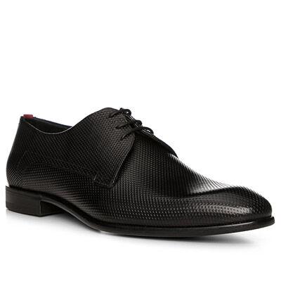HUGO Schuhe Herren, Leder, schwarz