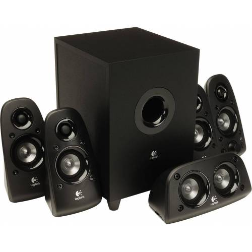 Logitech Z506 Surround Sound Speakers - PLUGG - EMEA