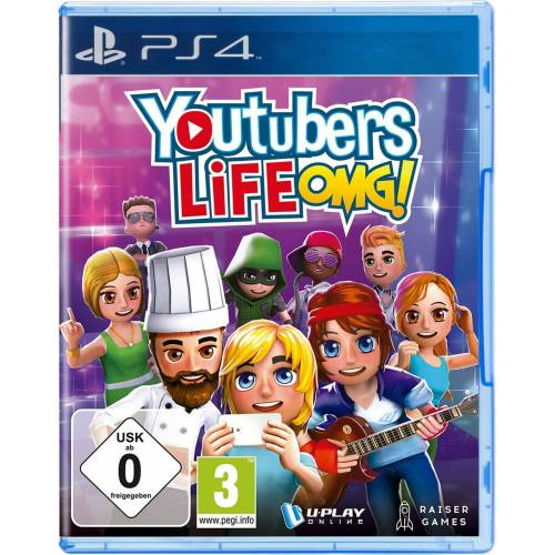 GAME Youtubers Life OMG!, PS4 (PS4)