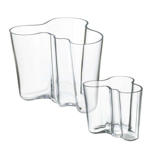 Iittala - Aalto Vasen-Set 160 + 95 mm, klar