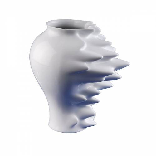 Rosenthal - Fast Vase weiß, 27 cm
