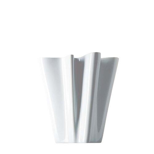 Rosenthal - Flux Vase, 14 cm / weiß