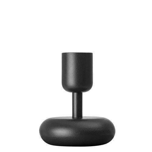 Iittala - Nappula Kerzenständer 107 mm, dunkelgrau