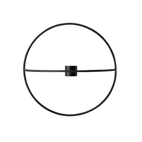 MENU - Pov Circle Kerzenhalter, S / schwarz