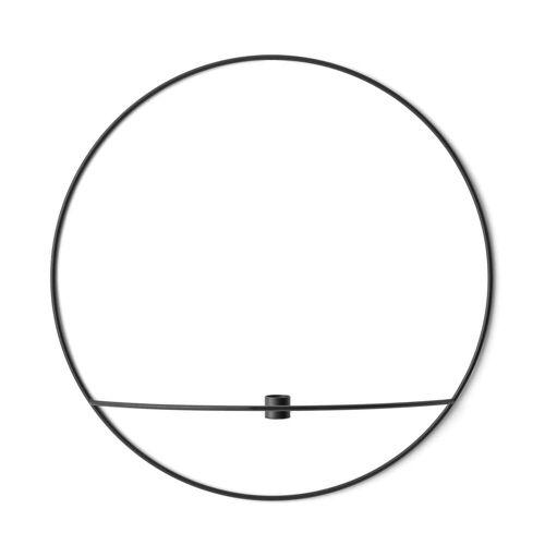 MENU - Pov Circle Kerzenhalter, L / schwarz