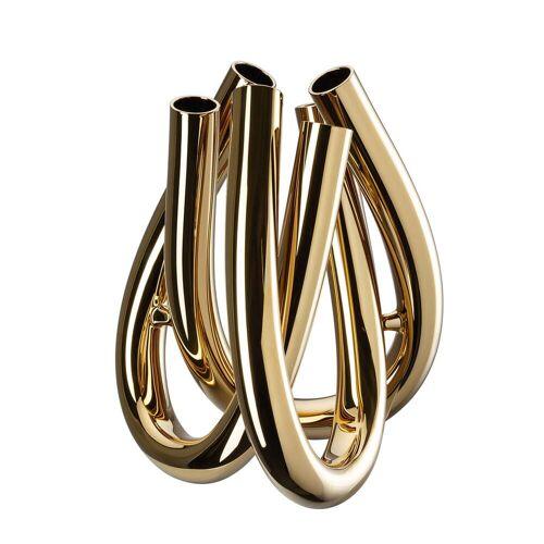 Rosenthal - Triu Vase H 22 cm, gold