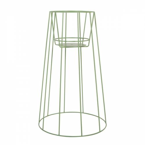 OK Design - Cibele Blumentopfständer H 54 cm, sea green