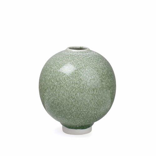 Kähler Design - Unico Vase H 12,5 cm, moss