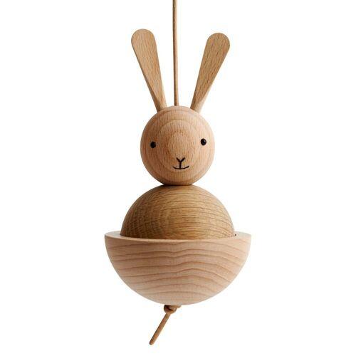 OYOY - Holzfigur Hase, Eiche / Buche