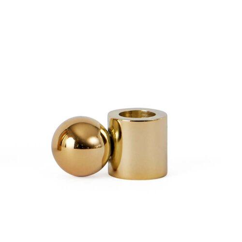 OYOY - Kerzenhalter Palloa klein, Messing