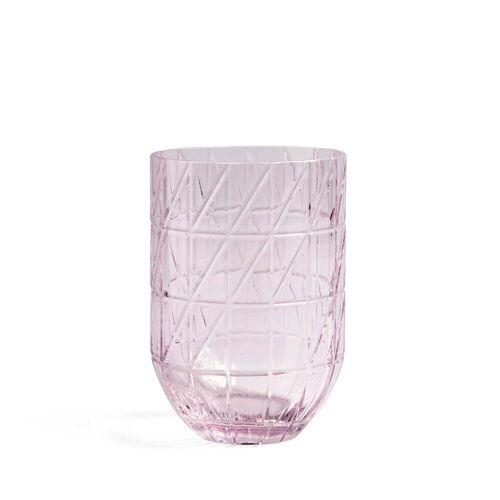 HAY - Colour Vase Glasvase, L, pink
