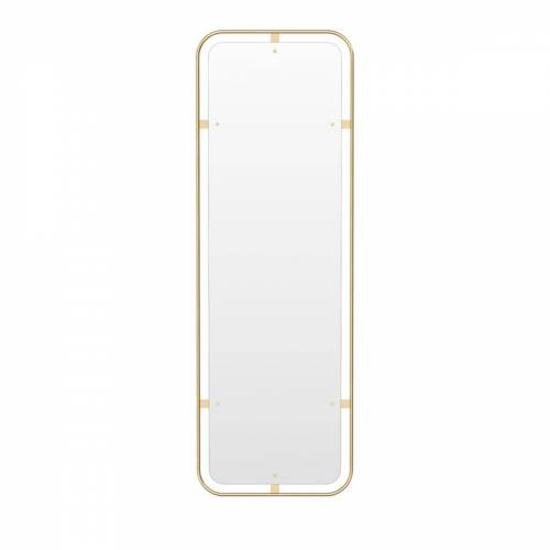 MENU - Nimbus Spiegel hochkant, Messing poliert