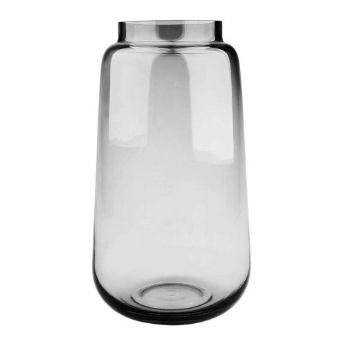 Connox Collection - Bou Vase Ø 17 x H 30 cm, grau