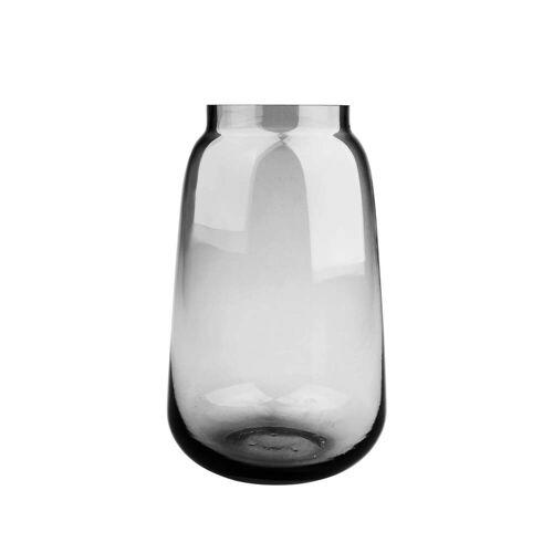 Connox Collection - Bou Vase Ø 15 x H 24 cm, grau