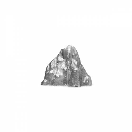 ferm LIVING - Stone Kerzenhalter large, Aluminium