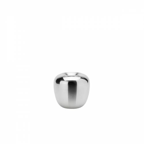 Stelton - Ora Kerzenständer, Ø 7,4 x H 7 cm, Edelstahl