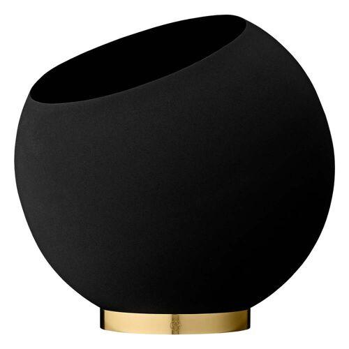 AYTM - Globe Blumentopf, Ø 37 x H 32,3 cm, schwarz