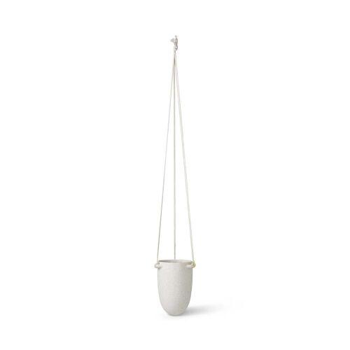 ferm LIVING - Speckle Hänge-Blumentopf, Ø 13,5 x H 18,5 cm, off-white