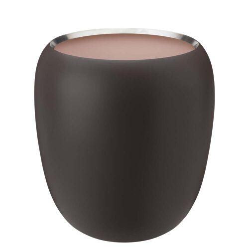 Stelton - Ora Vase groß, dark powder / powder