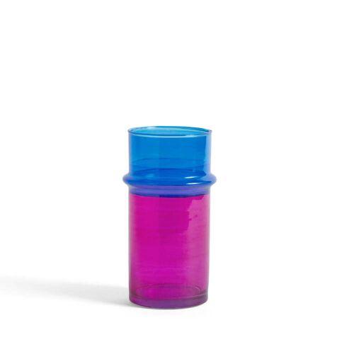 HAY - Marokkanische Vase S, pink / blau