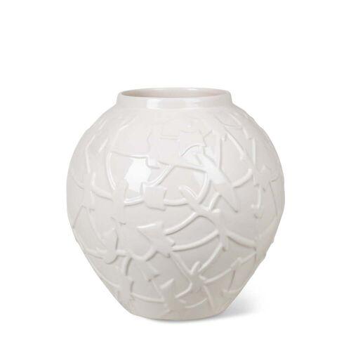 Kähler Design - Relief Vase, H 20 cm, weiß