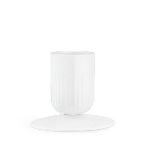 Kähler Design - Hammershøi Blockkerzenhalter, Ø 5 cm, weiß