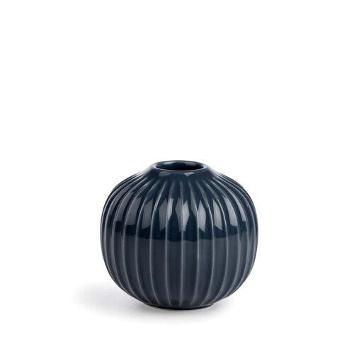 Kähler Design - Hammershøi Kerzenständer, Ø 8 x H 5,5 cm, anthrazit