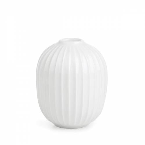 Kähler Design - Hammershøi Kerzenständer, Ø 8,5 x H 10 cm, weiß