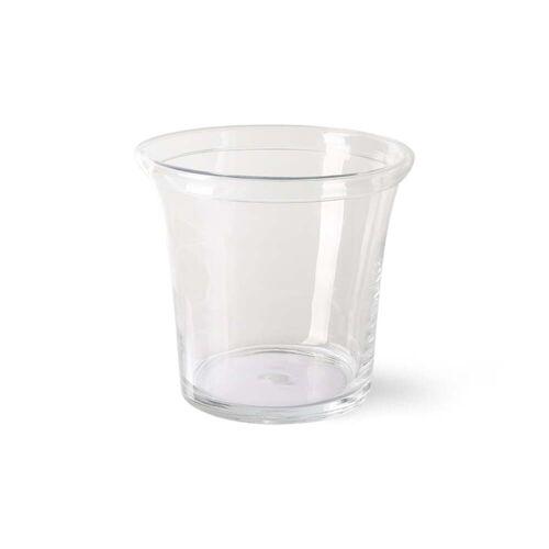 HKliving - Glas Blumentopf Ø 26 cm, klar
