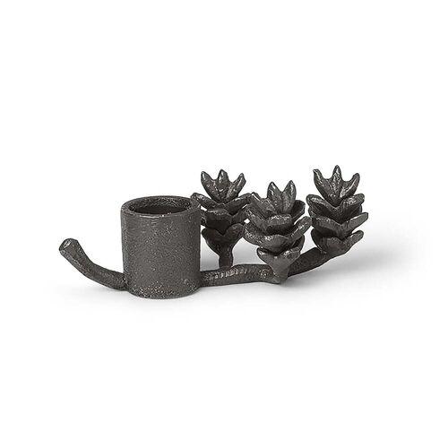 ferm LIVING - Zweig Kerzenhalter, schwarz