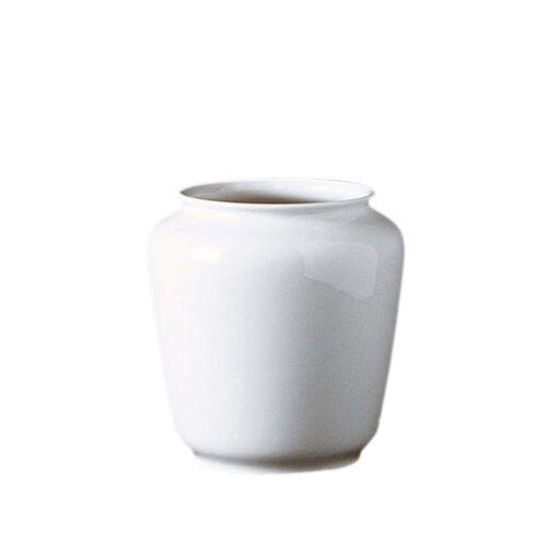 Fürstenberg - Wagenfeld Vase 639 - 14 cm, weiß