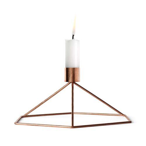 MENU - POV Tisch-Kerzenhalter, Kupfer