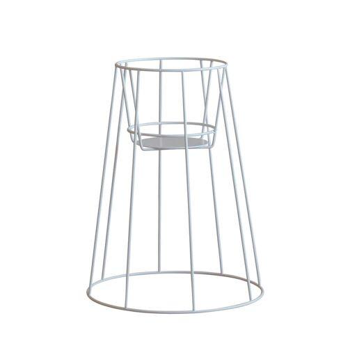OK Design - Cibele Blumentopfständer H 45 cm, white