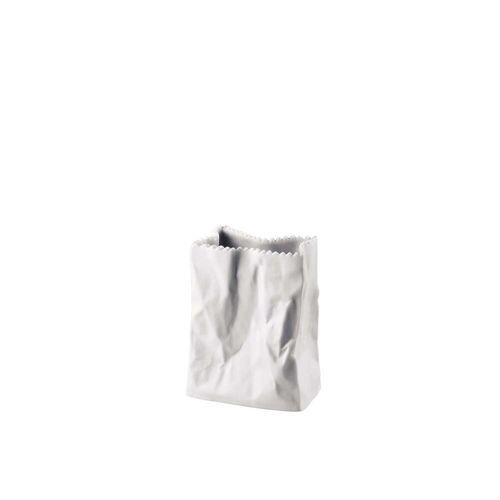 Rosenthal - Tütenvase, 10 cm, weiß-matt poliert