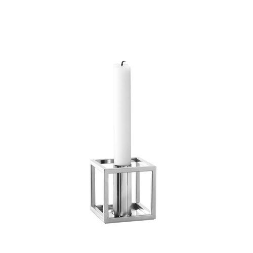 by Lassen - Kubus 1 Kerzenhalter, Nickel