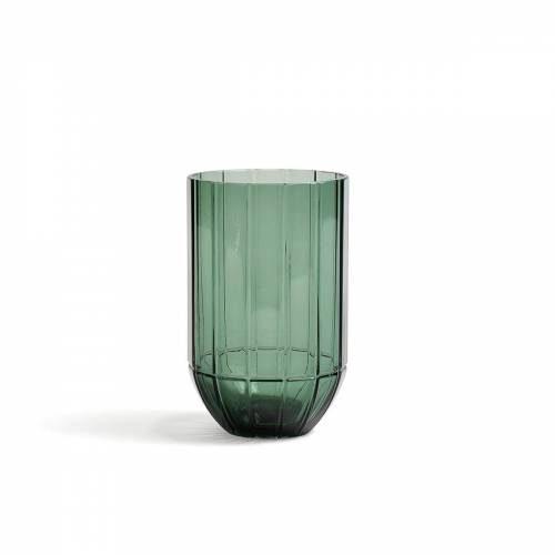 HAY - Colour Vase Glasvase, M, grün