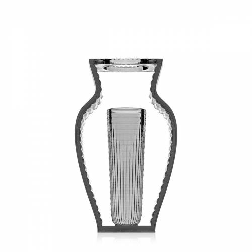 Kartell - I Shine Vase, rauch