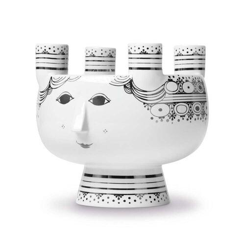 Bjørn Wiinblad - Kerzenständer Lucia H 15 cm, silber