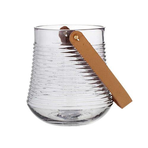 Bloomingville - Glas-Laterne H17 cm, klar