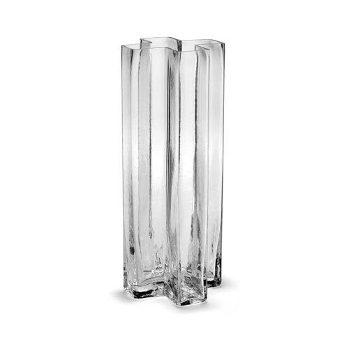 Holmegaard - Crosses Vase H 25 cm, klar