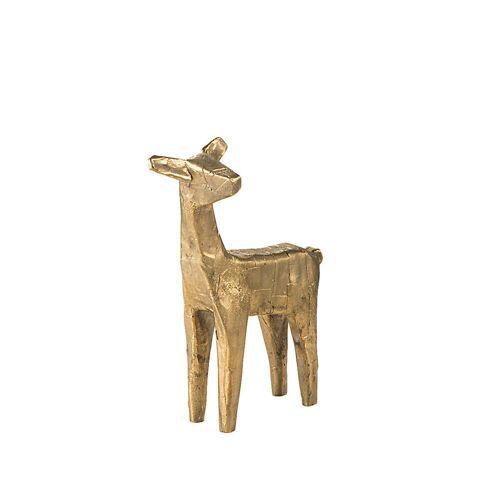 Pulpo - Dekofigur Reh, Bronze