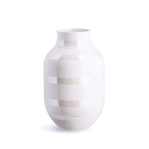 Kähler Design - Omaggio Vase H 30,5 cm, perlmutt