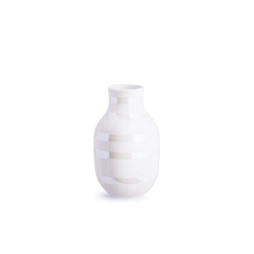 Kähler Design - Omaggio Vase H 12,5 cm, perlmutt
