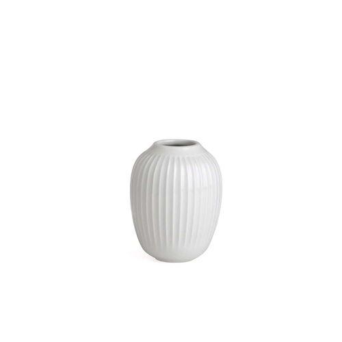 Kähler Design - Hammershøi Vase, H 10 cm / weiß
