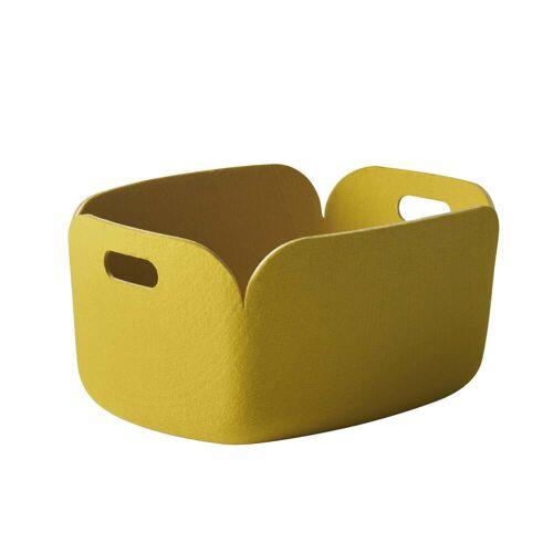 Muuto - Restore Aufbewahrungskorb, gelb