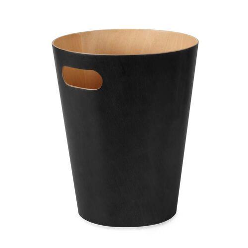 Umbra - Woodrow Papierkorb, schwarz