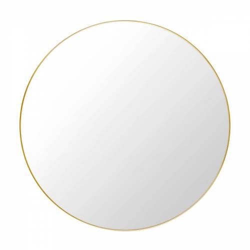 Gubi - Spiegel Ø 110 cm, Messing