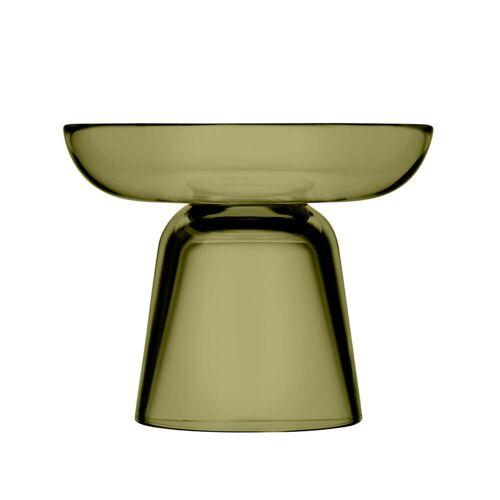 Iittala - Nappula Glas-Kerzenständer 107 mm, moosgrün
