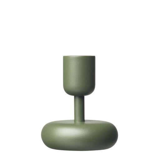 Iittala - Nappula Kerzenständer 107 mm, moosgrün